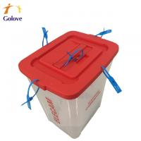 Buy cheap 60L PP ballot box for africa election from wholesalers