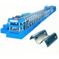 Buy cheap Gear Box Transmission Guardrail Roll Forming Machine Punching Press Automatic cutting from wholesalers