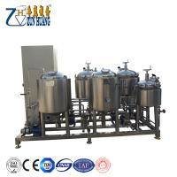 Buy cheap 50L homebrew mini brewery equipment micro home craft beer brewing equipment from wholesalers