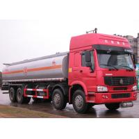 Buy cheap Carbon steel , stainless steel , Aluminum 25000L fuel tank trailer / tank truck transport from wholesalers