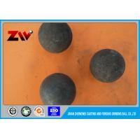 Buy cheap Good Wear Resistant Power Plant grinding media steel balls for ball mill from wholesalers