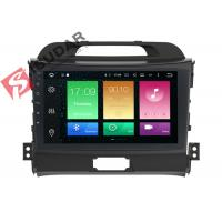 Buy cheap Full RCA Output Kia Sportage Sat Nav System 1 Din Bluetooth Car Radio Heat Dissipation product