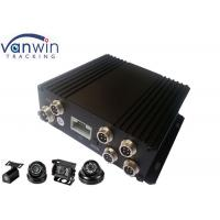 Buy cheap 256G SD Mobile DVR with GPS Tracking , MDVR 4CH Car Camera Mobile from wholesalers