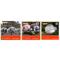 Buy cheap Double Plato PVC  Inflatable Party Tent Transparent Bubble Room from wholesalers