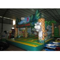 Buy cheap Hot sale inflatable safari park bouncer / elephant inflatable bouncer on sale from wholesalers