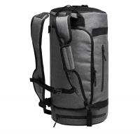 Buy cheap Wholesale Best Small Sports Bag Custom Logo Gym Bags Gray duffle bag travel Backpack from wholesalers