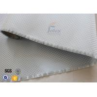 Buy cheap Aluminized Plated Fiber Glass Cloth Decoration Silver Coated Fiberglass Fabric from wholesalers