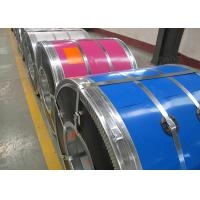 Buy cheap HDGI PPGI PPGL Color Coated Galvanized Steel Coil , Zinc Coating Colour Coated Steel Coils from wholesalers
