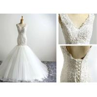 Buy cheap Custom Made Ladies Womens Sheath Dresses , Wedding Ball Gown Dresses Plus Size from wholesalers