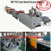 Buy cheap 1220mm PVC WPC foaming board making machine for furniture board from wholesalers