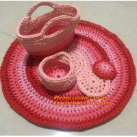 Buy cheap crochet rug crochet floor rugs round blanket baby blanket yoga blanket yoga rugs round flo from wholesalers