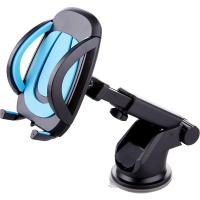 Buy cheap One Touch Suction Cup Adjustable Car Phone Holder Dashboard Mount 360 Degree Rotating from wholesalers