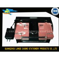 Buy cheap Plastic Automatic 2 Deck Poker Card Shuffler Machine 21.5CM*12CM*9.5CM from wholesalers
