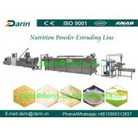 Buy cheap Nutrition Grains Rice Powder Food Extruder Machine / Production Line from wholesalers
