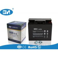 Buy cheap Small Rechargeable Sealed Lead Acid Battery Black Lightweight Acid Resistance from wholesalers