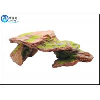 Buy cheap Customized Polyresin Fish Aquarium Craft Moss Rock Aquarium Ornaments from wholesalers