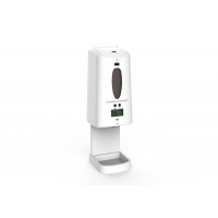 Buy cheap Touchless PC ABS 1300ml Automatic Hand Sanitizer Dispenser from wholesalers