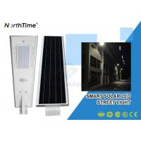 Buy cheap Phone Control Integrated Solar Street Light With Solar Panel , Bridgelux LED Chips from wholesalers
