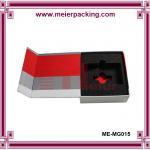 Buy cheap Custom printed paper box with EVA insert, magnetic closure photo album box ME-MG015 from wholesalers