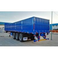 Buy cheap 70 Tons Cargo Container Trailer Shipping Container Truck Trailer 1600mm High Dropside from wholesalers