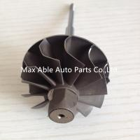 Buy cheap K04 44.5X50 journal bearing turbo turbine shaft 12 blades from wholesalers