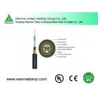 Buy cheap Thunder-Proof 48 Core Single Mode Fiber Optic Cable ADSS product