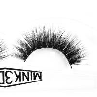 Buy cheap Siberian Wispy Natural Mink Lashes Cruelty Free 3d Individual Lashes For Party from wholesalers