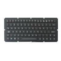 Buy cheap IP65 thin silicone industrial keyboard with OEM version for ruggdeized computer from wholesalers