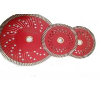 Buy cheap D125mm Granite Diamond Turbo Saw Blade with Cooling Holes from wholesalers