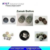 Zamak 5 zinc alloy die casting metal button die casting machine
