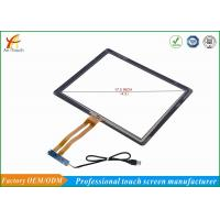Buy cheap High Sensitive 17 Touch Panel For Kiosk Glass Touch Digitizer Replacement from wholesalers