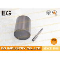 0.25 Inch Fine Grain Graphite Rod Electrodes , 48 HSD Stirring Graphite Cylinder