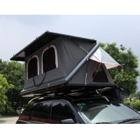 Buy cheap Half Automatic Z Shaped Hard Shell Roof Top Tent product