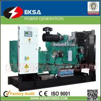 Buy cheap Hot-selling 250Kva CUMMINS diesel power generator set open types with fuel tank from wholesalers