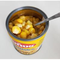 Buy cheap Hot Sale Canned Sweet Corn in Water Best Sweet Corn in Tin from wholesalers