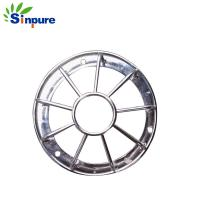 Buy cheap ISO9001 Small Stainless Steel Tubing Lamp Mesh Light Cover For Decorations from wholesalers