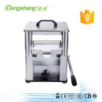 Buy cheap stainless steel manual hydraulic press juicer machine from wholesalers