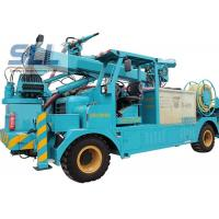 Buy cheap Air Compressor Cement Pump Truck / Mechanical Arm Concrete Pumping Equipment from wholesalers