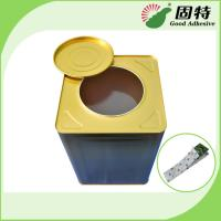 Buy cheap Yellow and semi-transparent Rubber-like solid Hot melt adhesive Fly catching paper & board hot melt glue adhesive from wholesalers