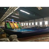 Buy cheap Colorful Giant Summer Inflatable Backyard Water Park For Park , Garden , School from wholesalers
