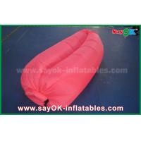 Buy cheap 3 Season Custom Inflatable Products Air Lounge Sofa Fabric Airbed from wholesalers