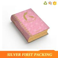 Buy cheap Silver First custom hard cover full color book printing paper packaging box from wholesalers