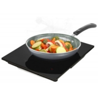 China 38x31cm 220V 2KW Drop In Electric Ceramic Stove with Single Burner on sale
