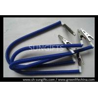 Buy cheap Blue/black spring spiral coils for dental using, custom expanding coil holders from wholesalers