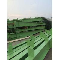 Buy cheap Customized Green H Section Painting Structural Steel I Beam U Channel-Workshop product