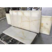 Buy cheap Cream Onyx Natural Marble Tile For Floor / Wall 20mm / 30mm Thickness from wholesalers