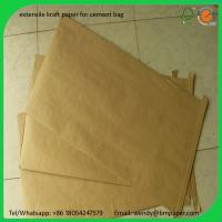 Buy cheap BMPAPER Kraft liner/Kraft Paper Box for cement bags from wholesalers