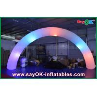 Buy cheap 63cm DIA Nylon Cloth Inflatble Lighting Arch Way Gate For Decoration from wholesalers