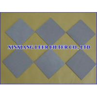 Buy cheap Sintered Porous Filter Plate from wholesalers