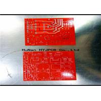 Buy cheap Speacker PCB Display Pcb FR4 Red Black Solde  Double Sided Circuit Board  Consumer Electronics Pcb product